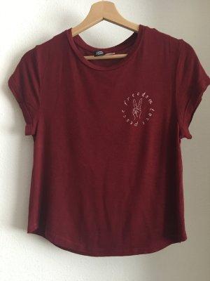 kurzes shirt von h&m