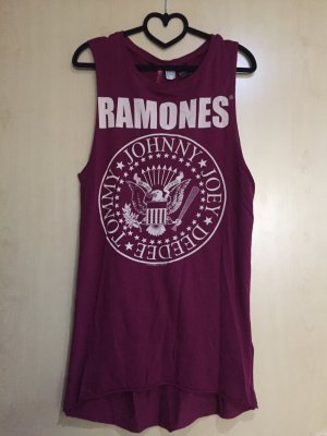 Kurzes Skaterkleid Ramones Bandshirt