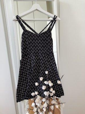 Aeropostale Mini vestido negro-blanco