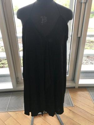 Kurzes Spaghettiträger Kleid schwarz festlich Gr. M