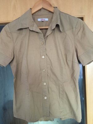 Short Sleeve Shirt beige