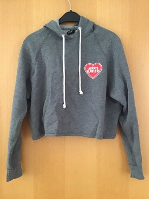 Hooded Sweater grey cotton