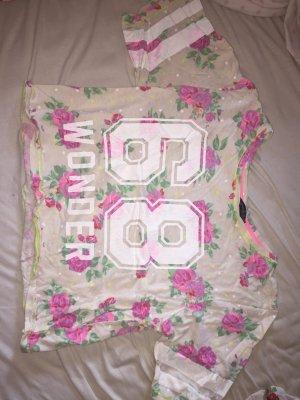 """Kurzes T-shirt mit der Aufschrift """"68 WONDER"""""""