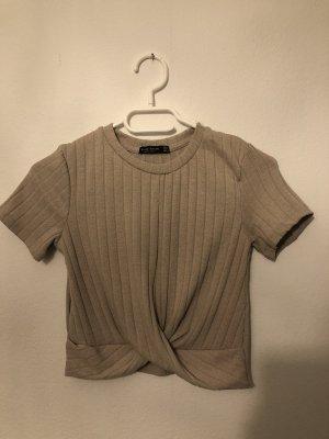 Bershka Cropped shirt roségoud