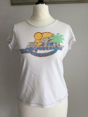 Kurzes T-Shirt von Replay mit Print zumTräumen