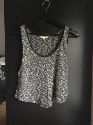 Kurzes Top/T-Shirt gemustert
