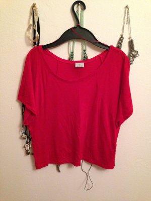 Kurzes Top von Zara in rot