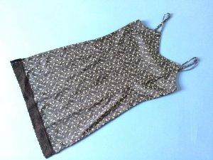 Kurzes Trägerkleid im Lingerie-Stil   More & More - True Vintage   36