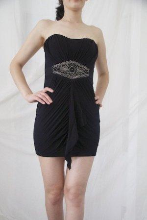 Kurzes, trägerloses Kleid