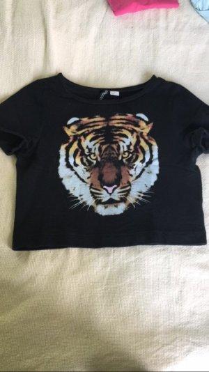 Kurzes Tshirt mit Aufdruck