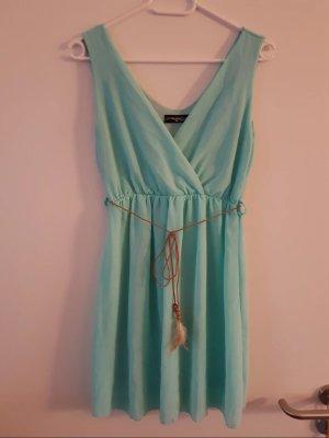 Mini Dress turquoise