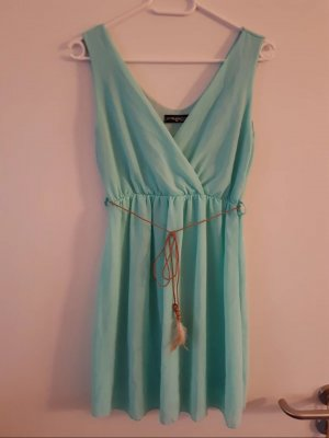 Mini Dress turquoise