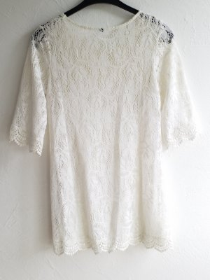 kurzes verspieltes Spitzen Kleid mit Unterkleid