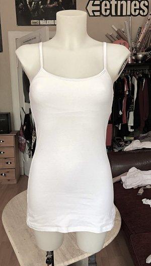 kurzes weißes Vicance Spaghettiträger Kleid XS