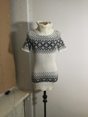 Clockhouse Sweater Dress natural white-black