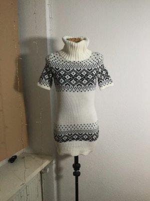 Clockhouse Sweater Dress natural white-black