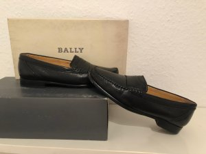 Bally Mocassins zwart Leer