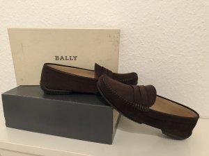 Bally Zapatos sin cordones marrón-negro-marrón oscuro