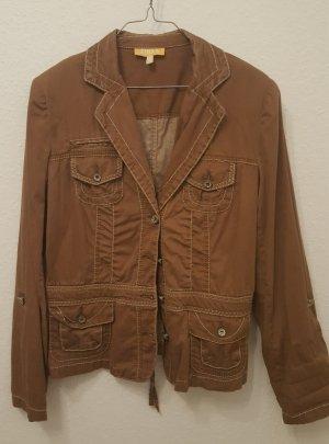 Biba Short Jacket brown