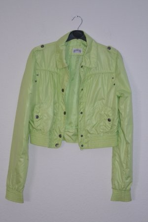 Kurzjacke Blouson grün giftgrün limette