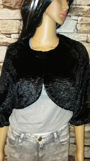 Hallhuber Fake Fur Jacket black