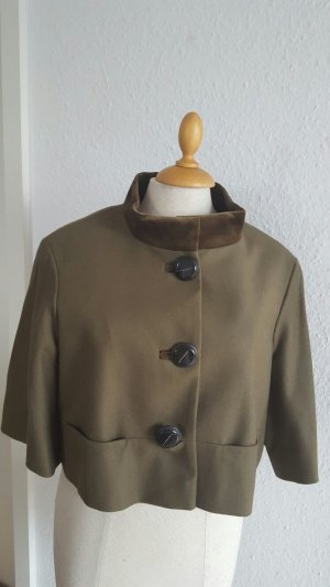 Riani Short Jacket brown new wool