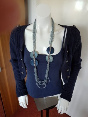 Vero Moda Bolero lavorato a maglia blu-blu scuro