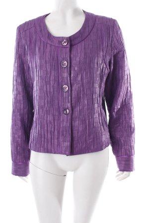 Kurzjacke lila-dunkelviolett 60ies-Stil