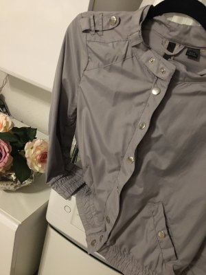 H&M Giacca mezza stagione grigio chiaro-grigio
