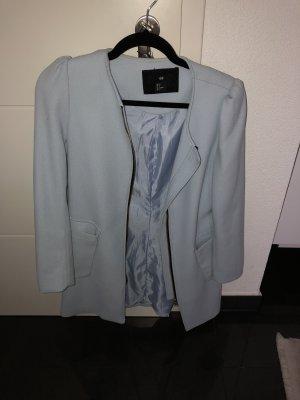 H&M Manteau court bleu clair