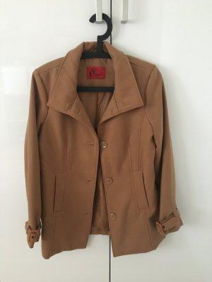 Vivien Caron Short Coat beige-camel polyester