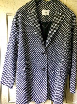 Suncoo Abrigo corto azul oscuro-gris