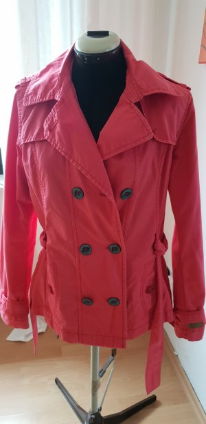 QS by s.Oliver Long Jacket salmon