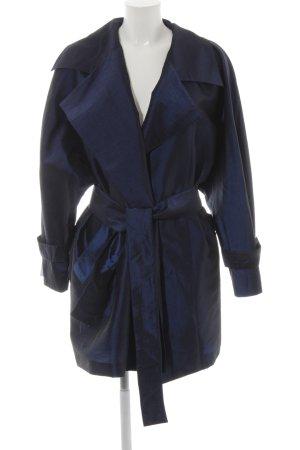 """Short Coat """"Ann Tjian for KENAR"""" dark blue"""