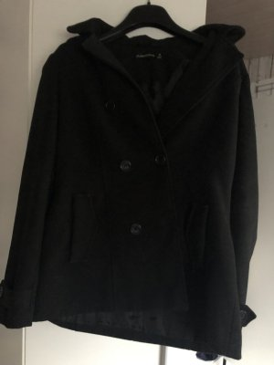 Glassons Cappotto con cappuccio nero