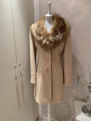 Easy Comfort Short Coat cream-beige