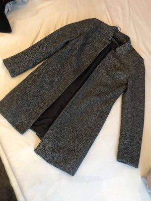 Only Short Coat grey-black