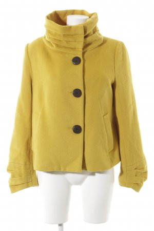 Korte Jas geel straat-mode uitstraling
