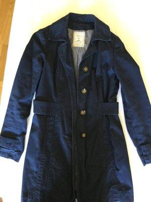 Boysen's Cappotto corto blu scuro Cotone