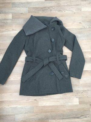Tom Tailor Denim Abrigo corto gris