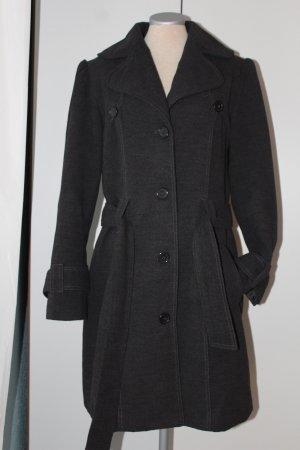 Abrigo de invierno gris