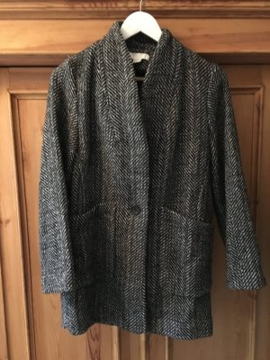 H&M Veste en laine multicolore