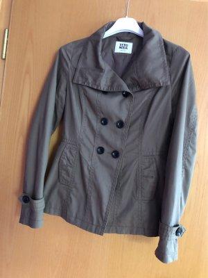 Vero Moda Overgangsjack donkergroen-groen-grijs