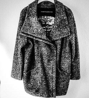 Drykorn Veste longue noir-gris clair