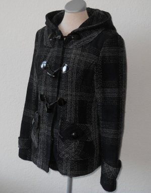 Duffel Coat black-dark blue