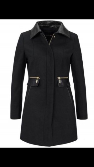Kurzmantel Mantel Jacke Trenchcoat Leder 36 S