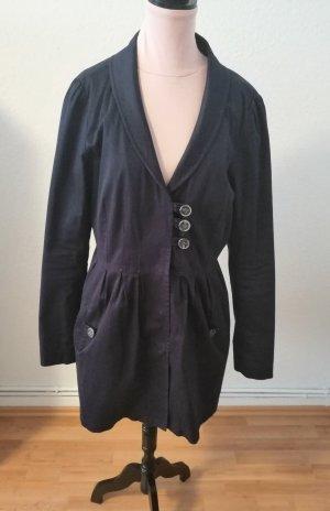 Vero Moda Abrigo corto azul oscuro