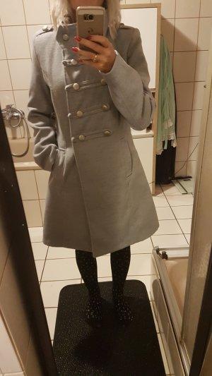 Short Coat silver-colored
