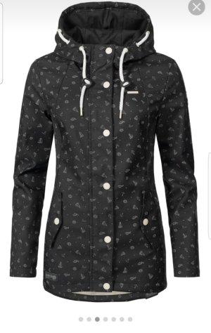 Ragwear Cappotto corto bianco-nero