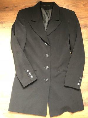 Kurzmantel s schwarz Trenchcoat